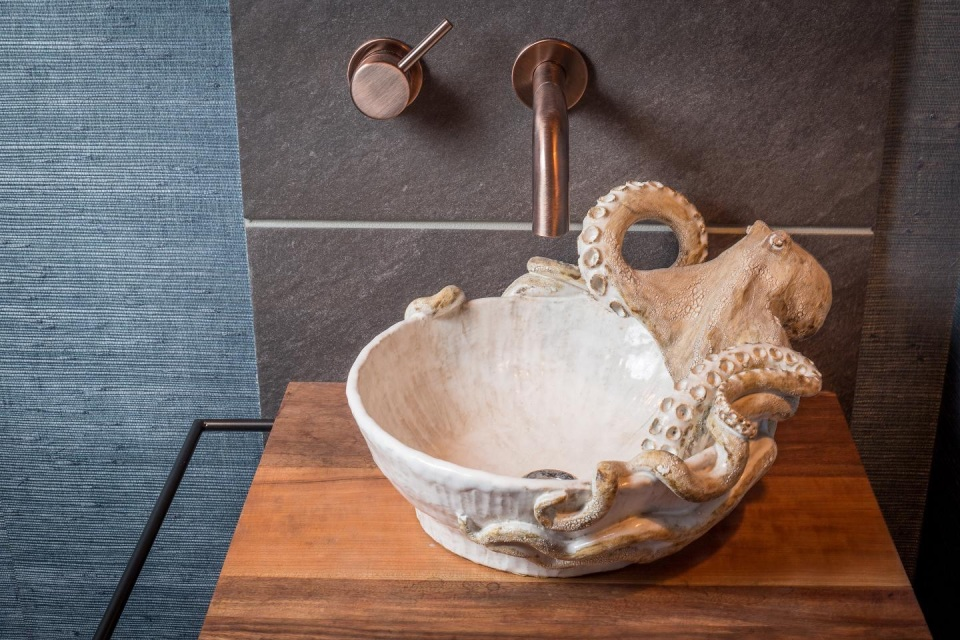Octopus Vessel Sink